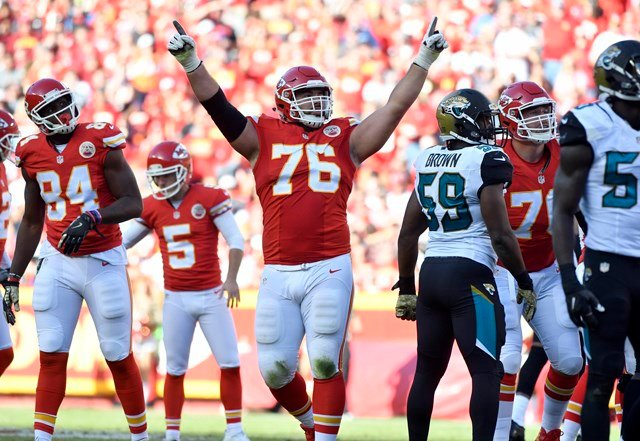 The Canadian-born Duvernay-Tardif became just the second player out of McGill University to be selected in the NFL Draft. (AP)