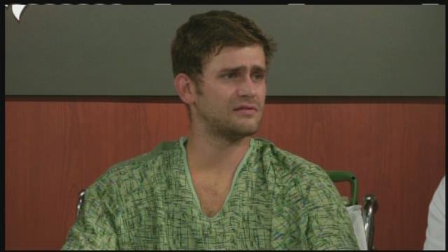 It's nothing short of miraculous that Ian Grillot is alive. (KCTV5)