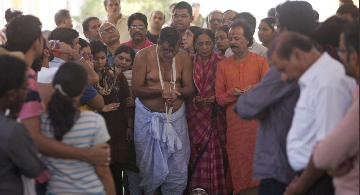 Hundreds of grieving family and friends have tearfully mourned an engineer in his southern Indian hometown after he was killed in an apparently racially motivated shooting in a crowded Kansas bar. (AP Photo)