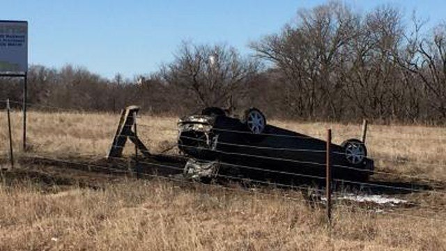 Alex Deaton was taken into custody following the wreck. (KWCH)