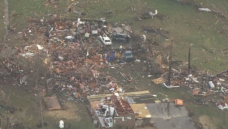 National Weather Service meteorologist Rick Shanklin says the tornado that struck the area near Perryville, MO Tuesday night was a strong one, though the wind speed has not yet been determined. (KMOV)