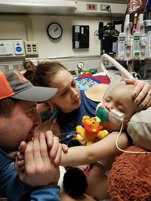 The pediatric ICU is the last place any parent wants to see their child, but it's where 2-year-old Blake spends his days struggling with a serious disease. (Submitted)