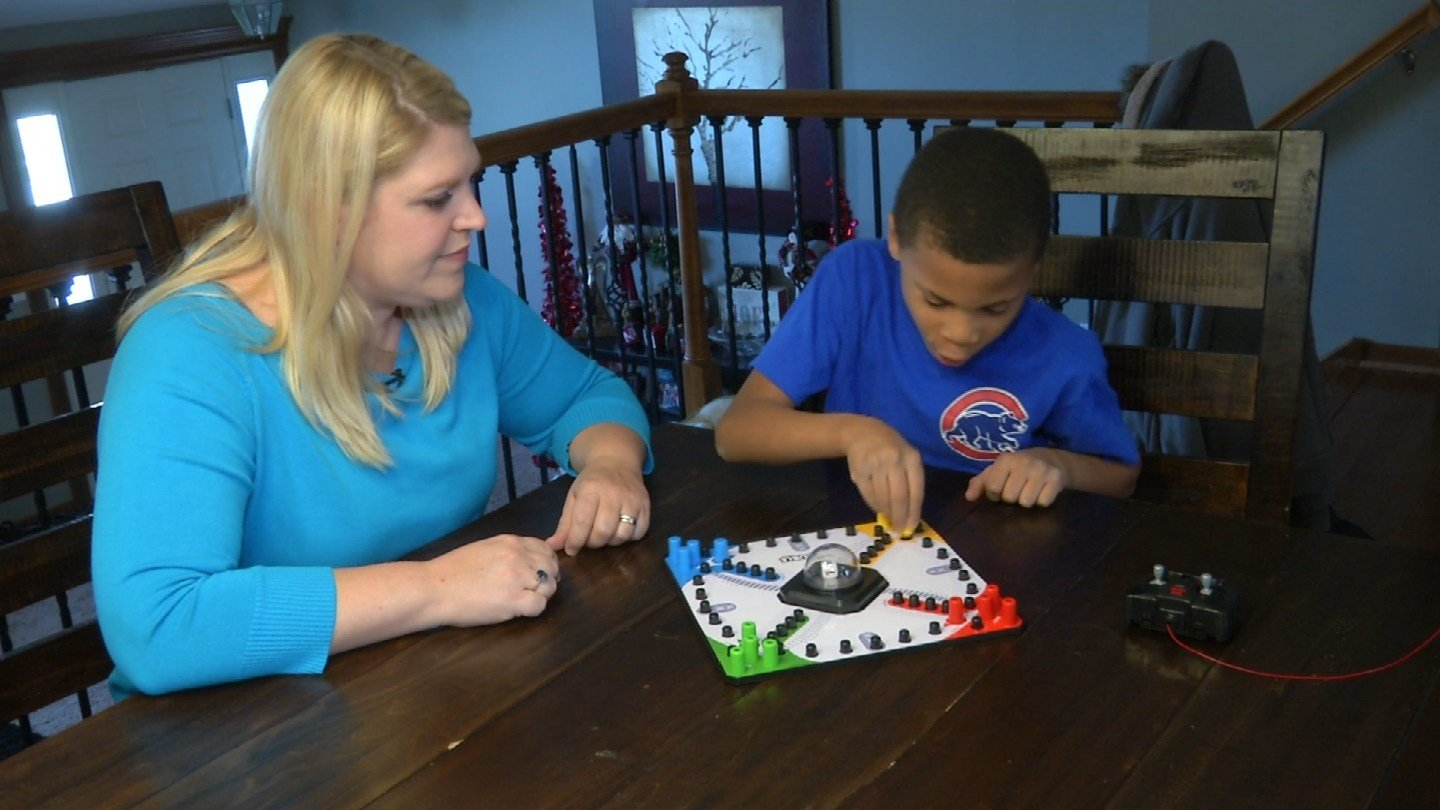 Becky Poitras adopted her 6-year-old son, Carson, when he was almost 2 years old. (KCTV5)