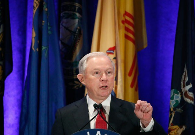 Missouri's U.S. senators are split on support for Attorney General Jeff Sessions following the revelation that he talked twice with Russia's ambassador to the United States during the presidential campaign. (AP)