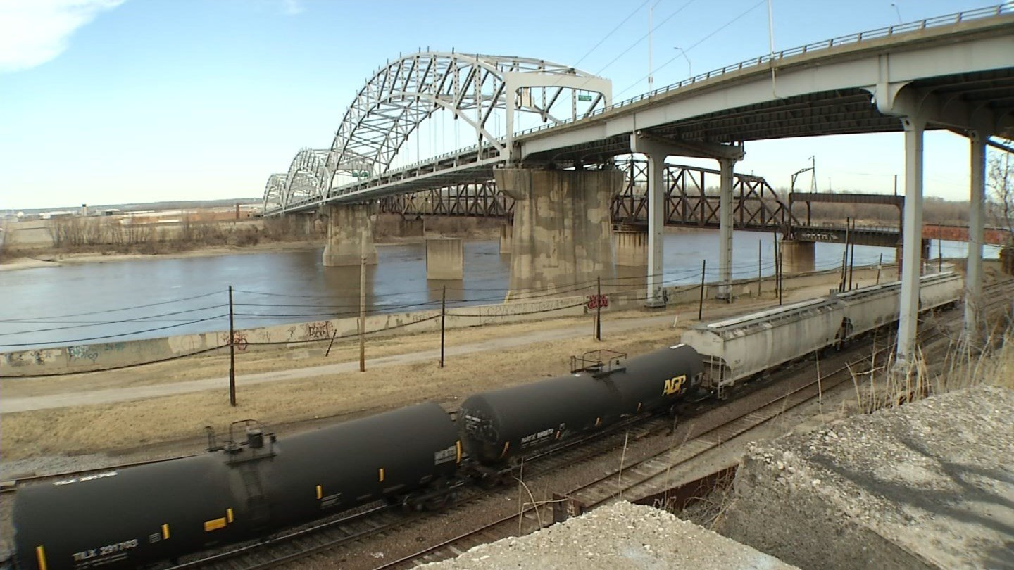 Tens of thousands of drivers use the Buck O'Neill Bridge every day to go between downtown and the Northland. (KCTV5)