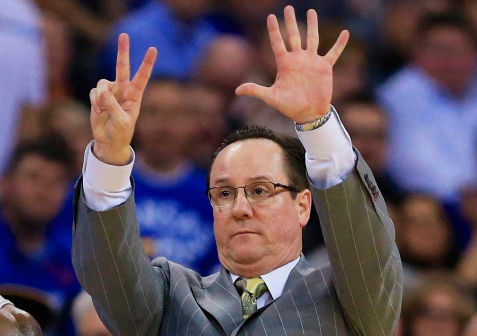 Wichita State's Gregg Marshall. (AP)