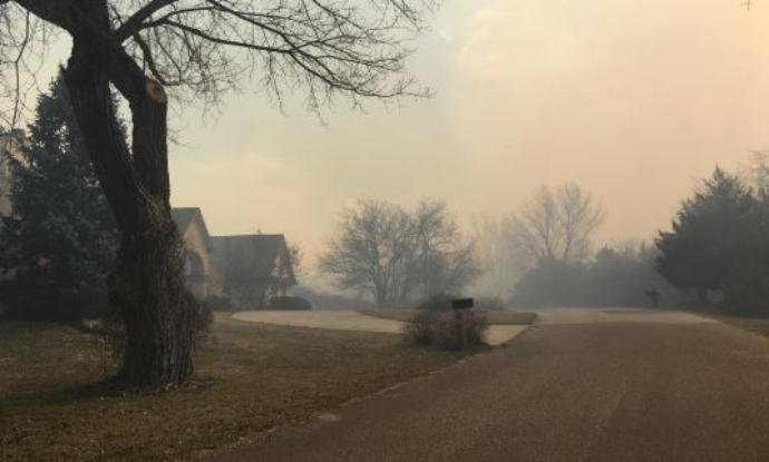 Several hundred people in the Highlands area near Hutchinson remain evacuated, but are expected to be cleared to return home in the next few hours, a Reno County Sheriff's captain says. (KWCH)