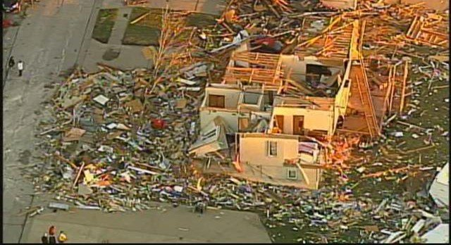 Between 10 to 15 people were reportedly injured in Oak Grove, MO during the tornado. (KCTV5)