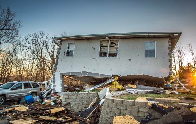 Missouri State Treasurer Eric Schmitt announced Tuesday the activation of a disaster relief program for small businesses in Oak Grove affected by severe weather Monday night. (KCTV5)