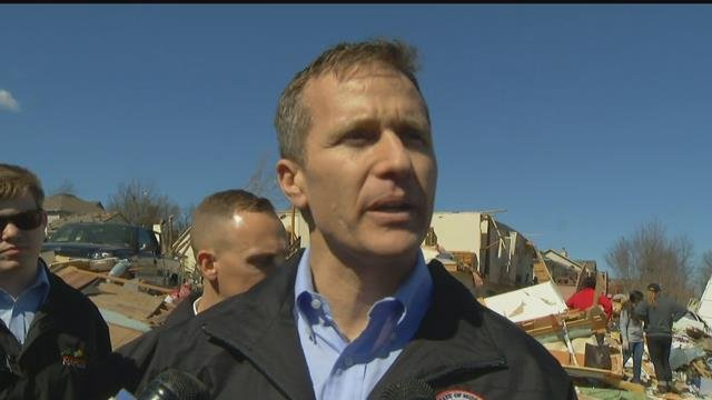 Missouri Gov. Eric Greitens has declared a state of emergency after storms carrying tornadoes, hail and strong winds caused damage across the state. (KCTV5)