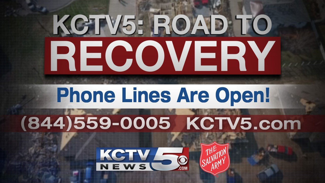 KCTV5 is standing up for Kansas City and helping the tornado victims, and you can lend a hand. (KCTV5)