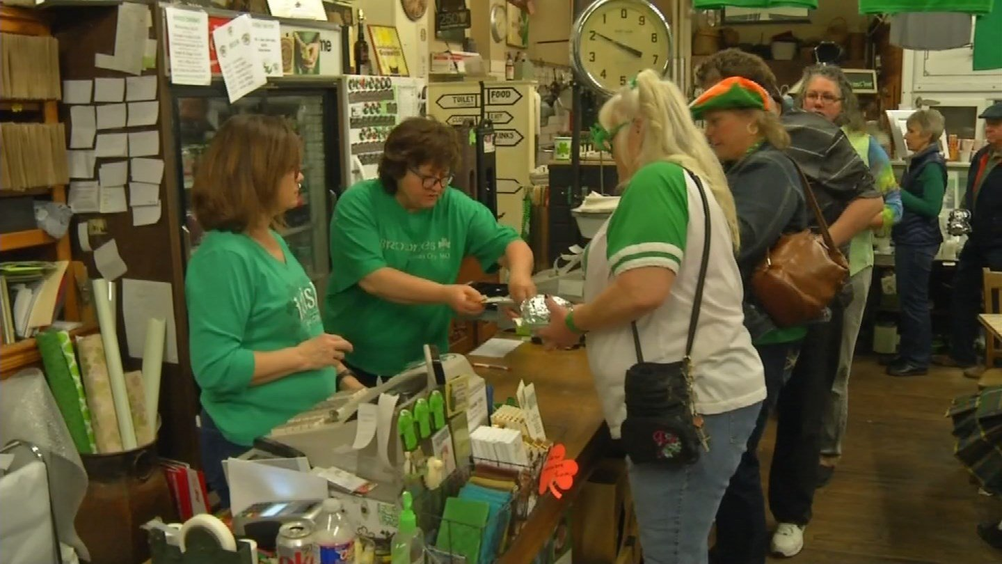 Browne's Irish Marketplace is a staple in Kansas City and is always a popular place to be for St. Patrick's Day. (KCTV5)
