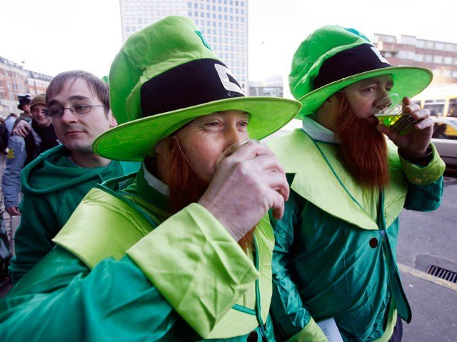 St. Patrick's Day means a lot of celebrating going on and likely some hangovers the following day. (AP)