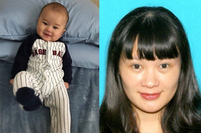 "Joshua Jeffrey Ma is believed to be with his mother, 36-year-old Cuihua ""Helena"" Liao. (KBI)"