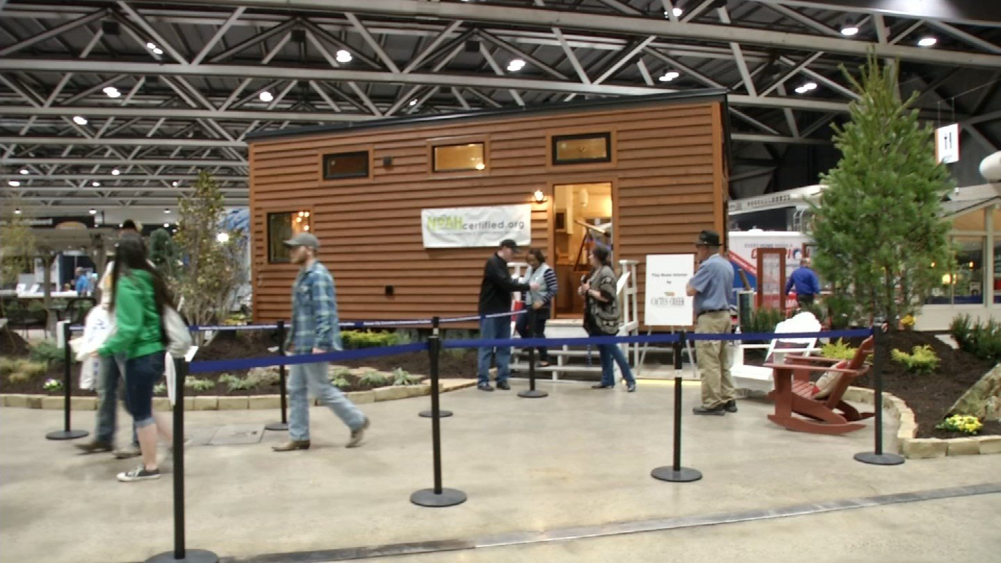 Tiny homes were also featured. (KCTV)