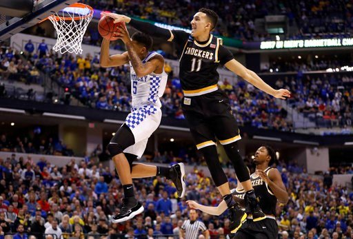 The youngest team in the NCAA Tournament grew up in the closing minutes. (AP)
