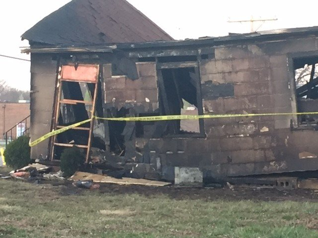The impact of the crash strong was enough to shift the house two feet off its foundation. (Jessica Reyes/KCTV5 News)