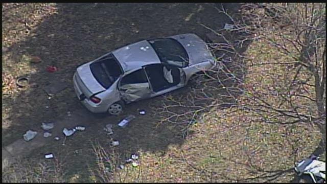 Two people were injured in this crash, in addition to the two children who died. (KCTV)