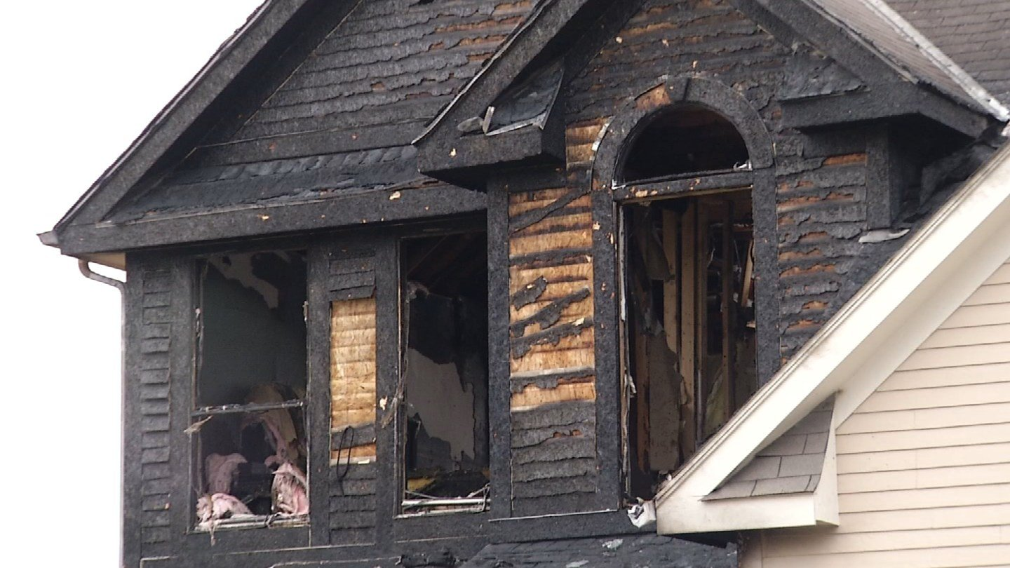 A Shawnee family has to find a new place to stay after a fire destroyed their home. (KCTV5)