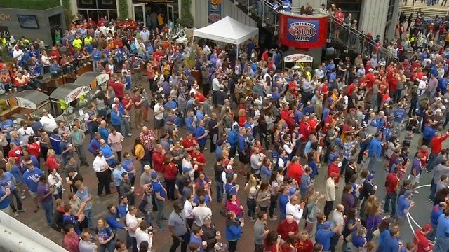 The Flying Saucerin the Power and Light District is just one of many sports bars and restaurants scoring big due to the NCAA Tournament in Kansas City. (KCTV5)