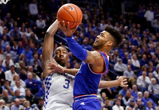 Senior guard Frank Mason III is one of the best to ever wear a Kansas uniform. At one point in the Elite Eight loss to Oregon, he scored 15 straight points in an effort to will a comeback against the Ducks. (AP)