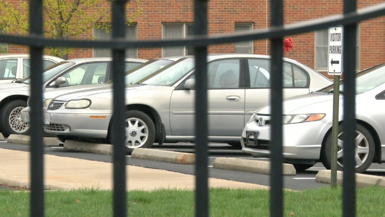 Around 4:30 a.m. on Monday, police say three people were spotted breaking into cars in the parking lot of Little Sisters of the Poor, a nursing home and assisted living facility. (KCTV5)
