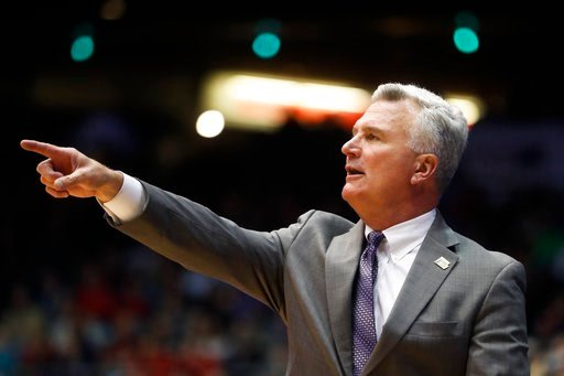 Kansas State men's basketball head coach Bruce Weber will be back on the sidelines next year for the Wildcats. (AP)