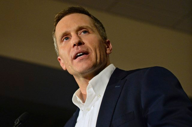 Greitens is pitching the measure as a way to spur the economy by improving the legal climate for businesses. (AP)