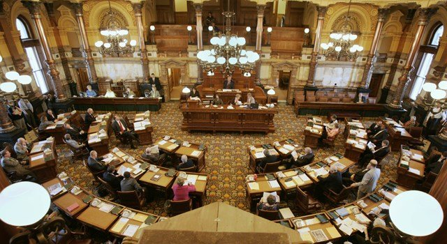The state Senate voted 25-14 on Tuesday for legislation that would expand state health coverage to thousands of poor adults. (AP)
