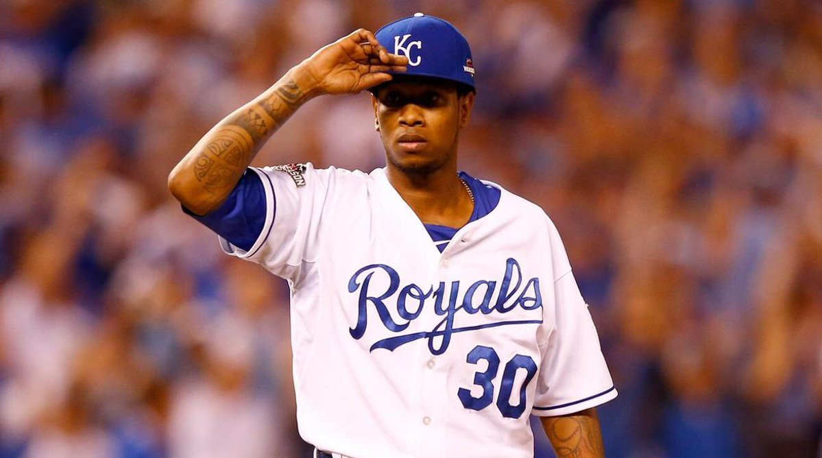 The late Yordano Ventura has been honored again by the Kansas City Royals.(AP)