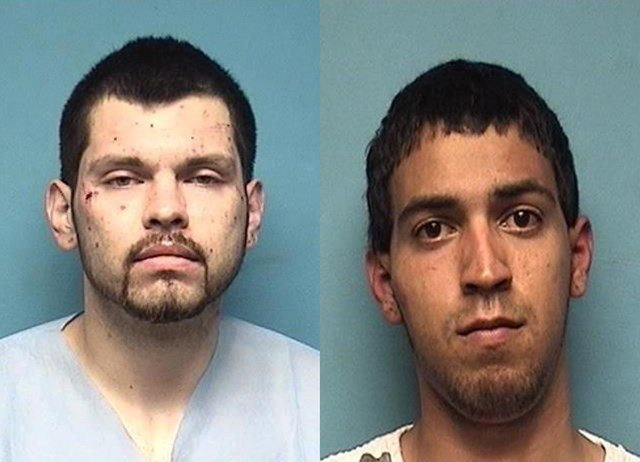 So far, police have charged four men with burglary but are still looking for one more person of interest. (Independence Police)