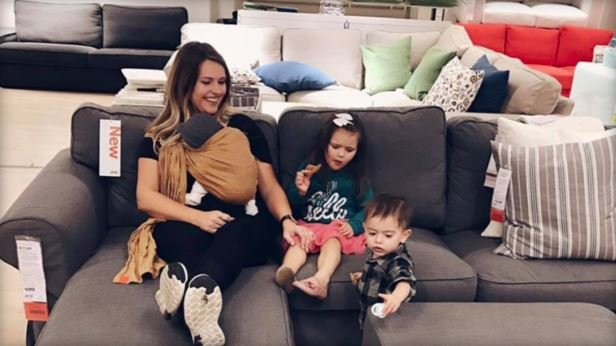 Diandra Toyos suspects her children may have been eyed by human traffickers at an IKEA store in Covina, California. (CBS/Facebook/Diandra Toyos)