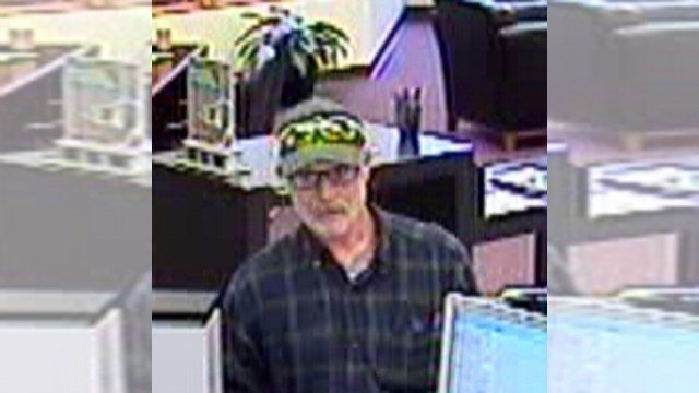 The suspect presented a note and left with an undisclosed amount of cash. (KCTV)