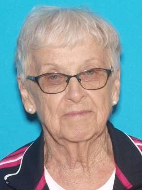 Erma Riche Homan was last seen at 3 p.m. Sunday at her home in the 1100 block of North College in Albany, MO. (Missouri State Highway Patrol)