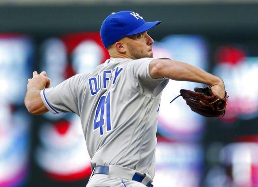 Danny Duffy. (AP)