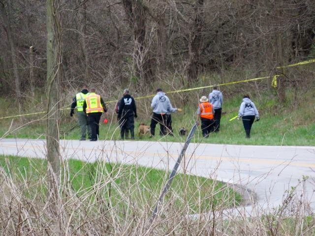 The Cass County Sheriff's Office is investigating after a mushroom hunter discovered human remains in a wooded area.(Rob Rhodes/KCTV5 News)