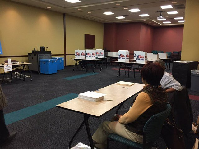 Ten to 15 percent of voters are expected to cast their ballots during Tuesday's voting. (KCTV5)