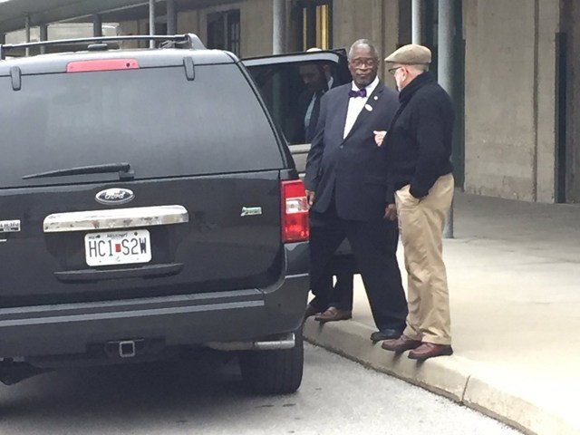 Mayor Sly James also voted Tuesday morning. His main concern, the $800 million bond package. (KCTV5)