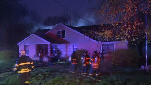 The fire started about 5:40 a.m. at a home in the 500 block of Atlantic Street. (KCTV5)