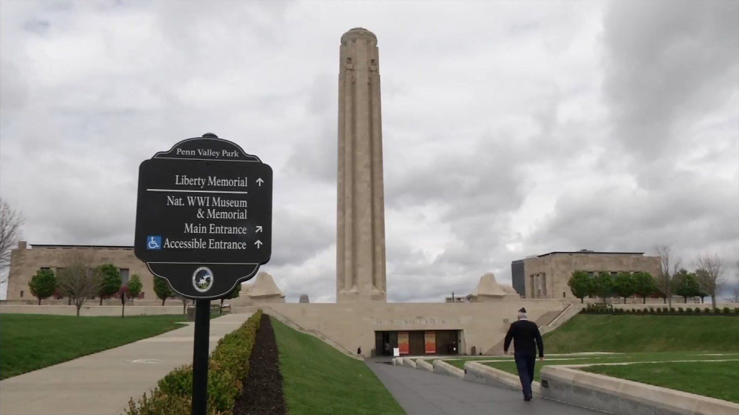 A national ceremony is happening Thursday at the National World War I Museum and Memorial in Kansas City at the Liberty Memorial. (KCTV5)