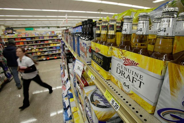 The Kansas House has voted to give grocery stores the right to sell full-strength beer, overcoming the state's history of strict liquor laws. (AP)