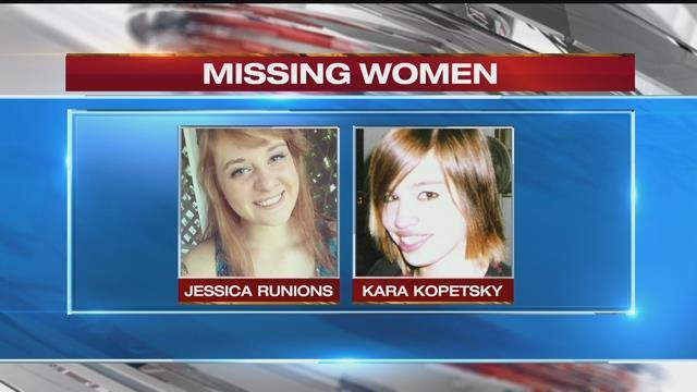A mushroom hunter found those remains Monday near Belton. Shortly after that, police were in contact with the families of both Jessica Runions, left, and Kara Kopetsky. (File)