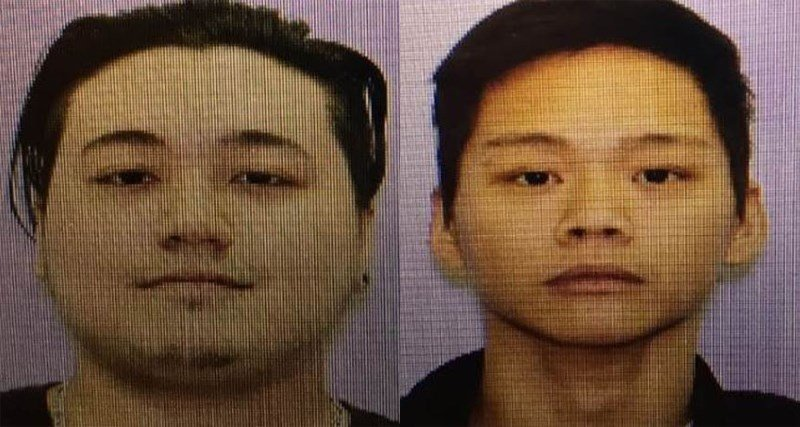 William L. Dela-Cruz (left) and Jason A. Dela-Cruz (right). (Blue Springs Police Department)