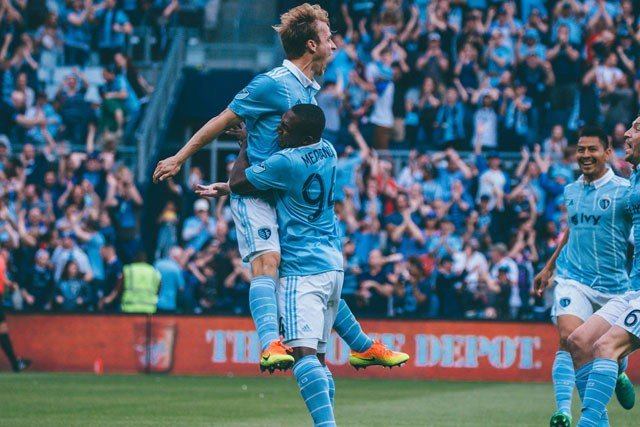 The wait is over, Sporting Kansas City put together the complete performance they were looking for and remain one of Major League Soccer's three unbeaten teams. (Sporting Kansas City/Facebook)