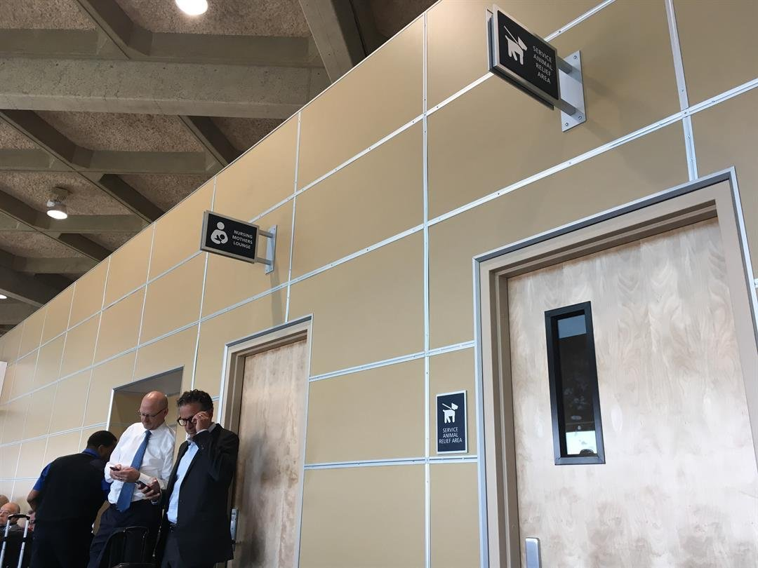 New amenities are now at the Kansas City International Airport, making traveling easier for some people. (Abigael Jaymes/KCTV5 News)