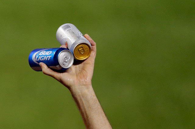 The stadium entered into an expanded agreement with MillerCoors as the Kansas City Royals official beer.  (AP)