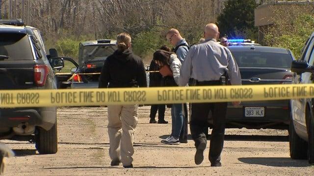 Kansas City, KS police respond to a body call in the 200 block of Donovan Avenue. (KCTV5)