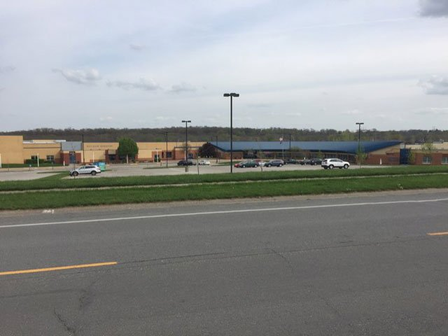 Blue Valley Middle School and Blue River Elementary Schoolwere on lockdown after a teacher was attacked, the Overland Park Police Department said. (Rudy Harper/KCTV5 News)
