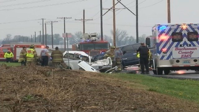 Police are investigating a crash involving a stolen pickup that left four people dead. (CNN)