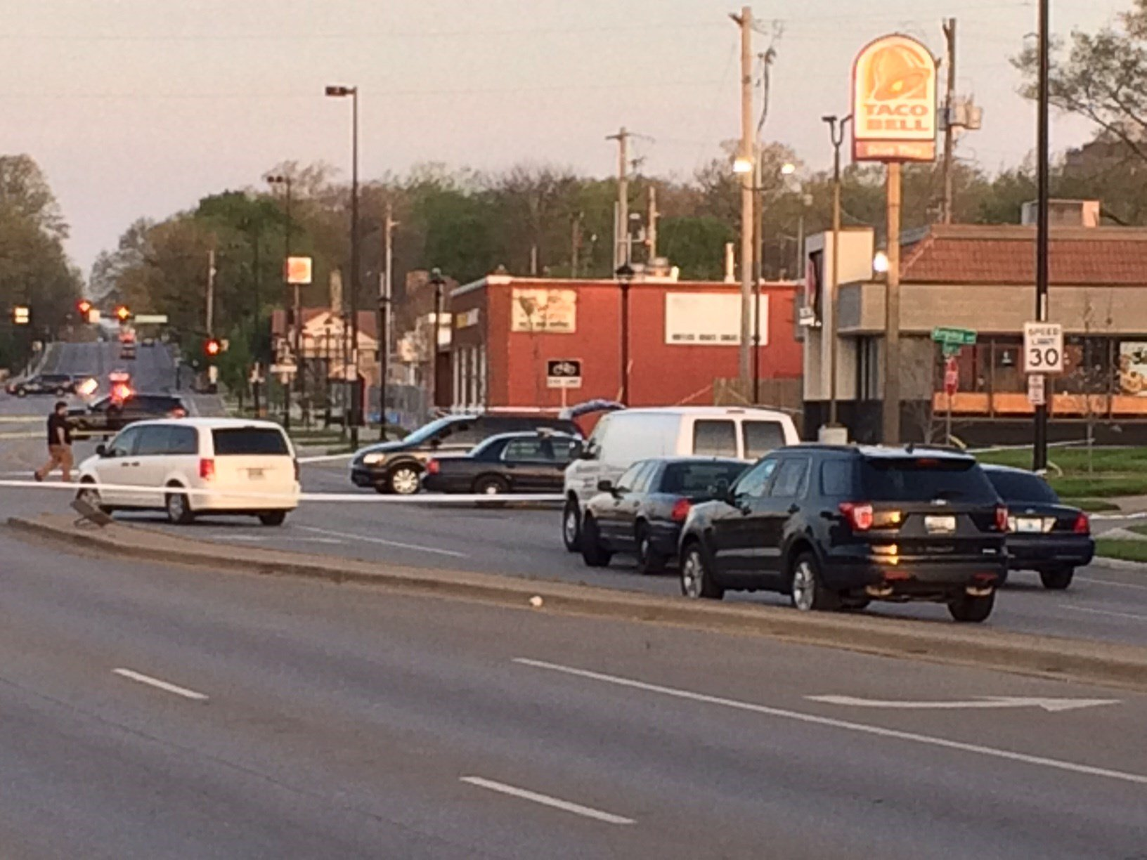 Three people were shot overnight in Kansas City. One has died. (Eric Smith/KCTV)